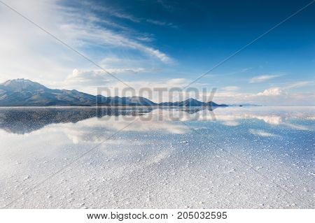 Salt Flat Salar De Uyuni, Bolivia