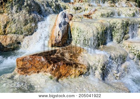 Natural Spa Saturnia Thermal Baths, Italy