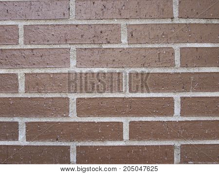 texture of wall of red brick with white boards background