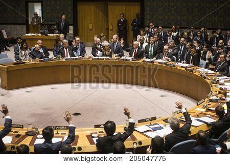 President Of Ukraine Petro Poroshenko In Un General Assembly
