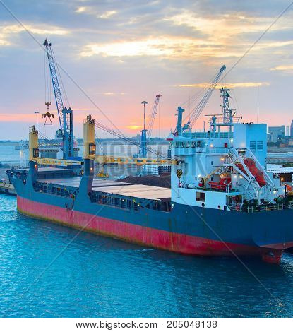 Industrial Cargo Port, Italy