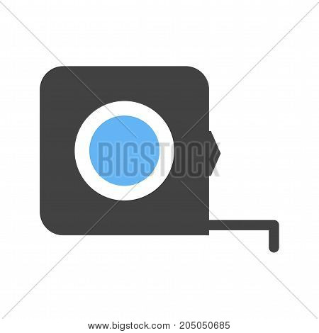 Tape, measure, scale icon vector image. Can also be used for Hand Tools. Suitable for mobile apps, web apps and print media.