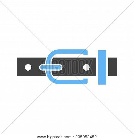 Belt, leather, buckle icon vector image. Can also be used for Men Accessories. Suitable for web apps, mobile apps and print media.