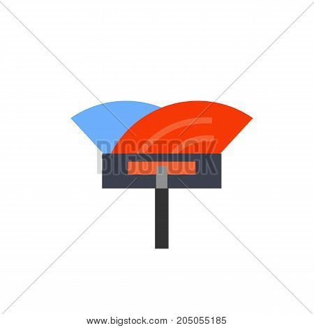 Icon of spatula for installation floor. Device, material, design. Performing apartments concept. Can be used for topics like home improvement, diy, decor