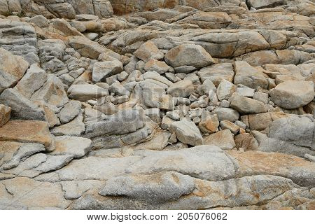 Stone rock background and texture close up
