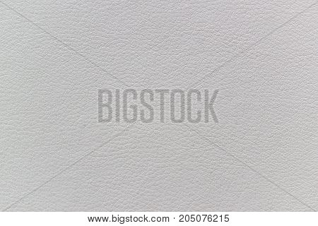 White artificial leather texture as abstract background