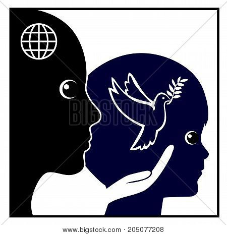 Peace Education for Kids. Teaching children peaceful attitude and solutions in early childhood education