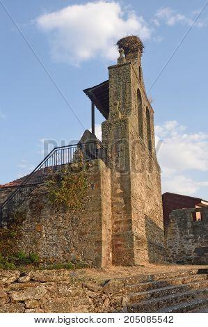 Church Of Santiago Apostol In Rionegro Del Puente, Zamora Province,castilla Y Leon, Spain
