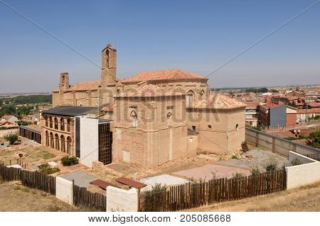 Romanesque  Church Of La Peregrina Of Sahagun, St.james Way, Leon Province, Castilla Y Leon , Spain