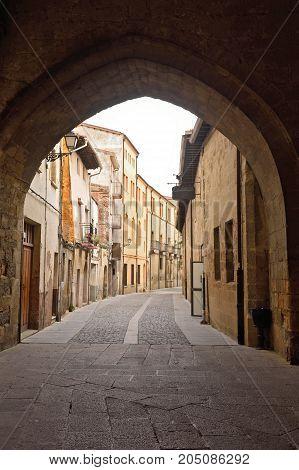 Street Of Santo Domigo De La Calzada, La Rioja, Spain