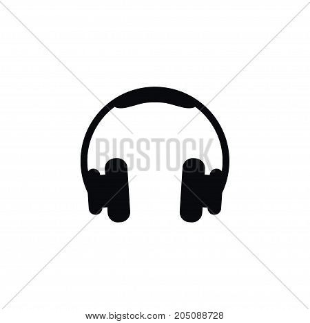 Headset Vector Element Can Be Used For Electronics, Headset, Headphone Design Concept.  Isolated Electronics Icon.
