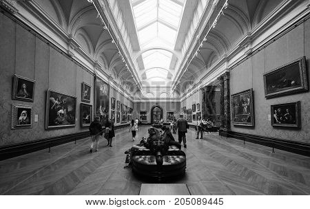 National Gallery In London Black And White