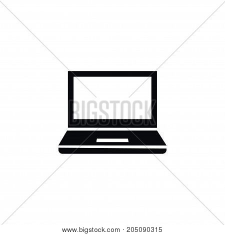 Notebook Vector Element Can Be Used For Desktop, Notebook, Laptop Design Concept.  Isolated Desktop Icon.