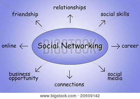 Social Networking Illustration