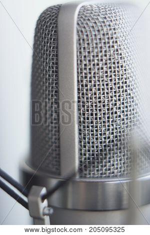 Studio Recording Voice Microphone