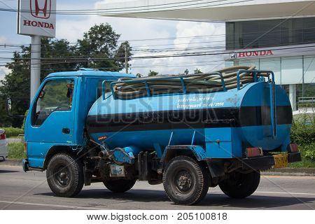 Private Old  Water Tank Truck.