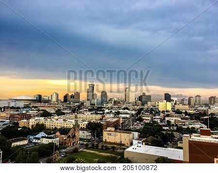 city buildings and view of New Orleans Louisiana
