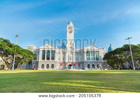 Victoria Theatre and Concert Hall in Singapore city Singapore