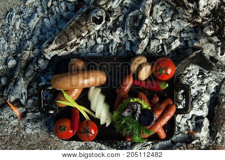 A Dish On Cold Coals