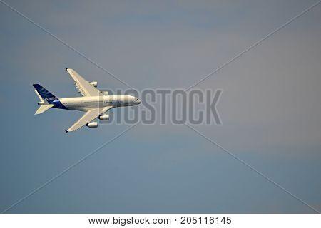 Airbus A 380/SIAF Sliac - 2017 August 26-air day fly the plane  Airbus A 380
