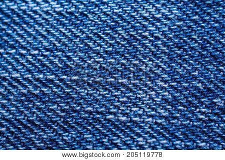 Blue jeans texture background pattern indigo macro