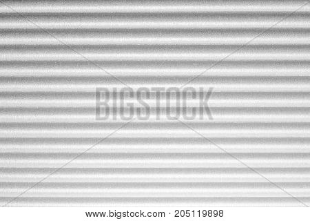 Grey and white horizontal long lines. Stripped seamless background. Light effect