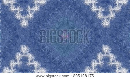 Abstract blur background in blue tones raster image is computer graphics and can be used in the design of textiles in the printing industry in a variety of design projects