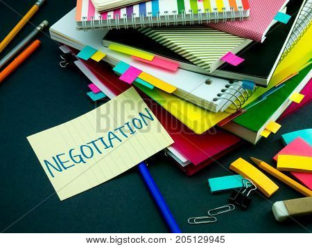 Somebody Left The Message On Your Working Desk;negotiation