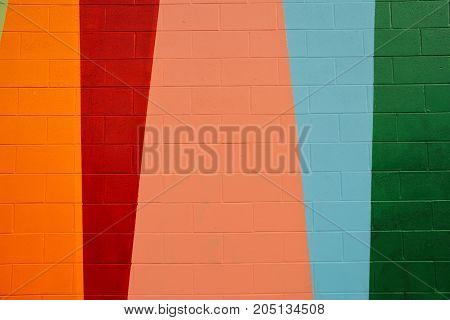 Detail of urban graffiti on a brick wall.