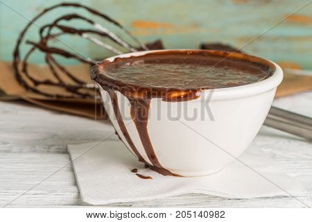 Chocolate Mouuse And Egg Beater