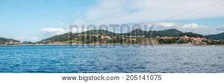 Overlook Of The Coast Of Cangas