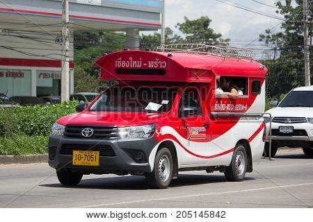 Toyota Hilux Revo Orange Mini Truck Taxi Chiangmai