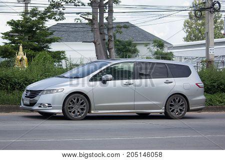 Private Old Honda Odyssey Van.