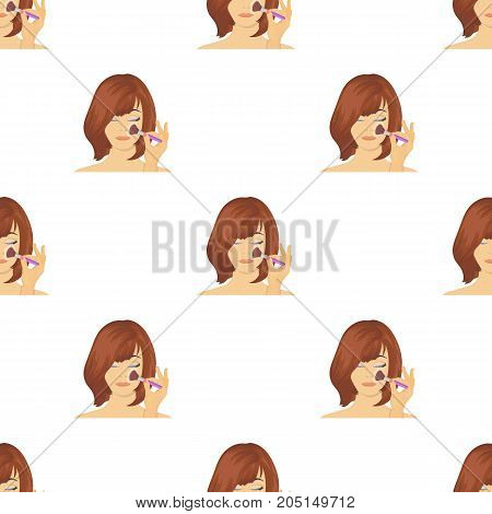 Hairstyle single icon in cartoon style.Hairstyle vector symbol stock illustration .