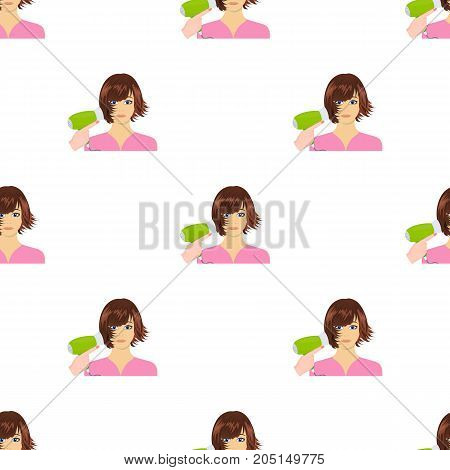 Hairstyle single icon in cartoon style.Hairstyle, vector symbol stock illustration .