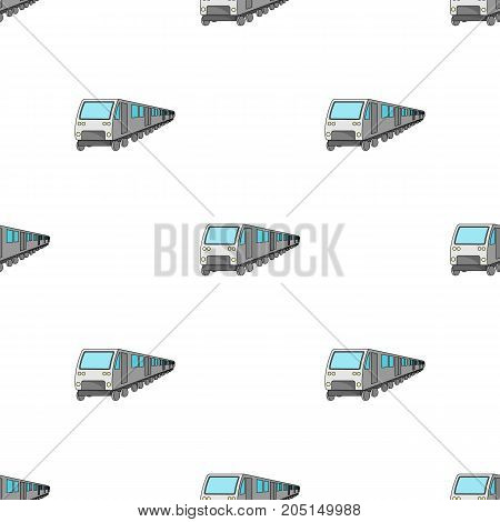 Train, single icon in cartoon style.Train, vector symbol stock illustration .