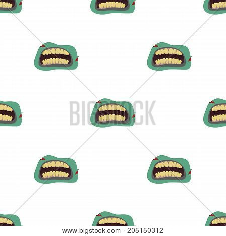 Root, single icon in cartoon style.Root, vector symbol stock illustration .
