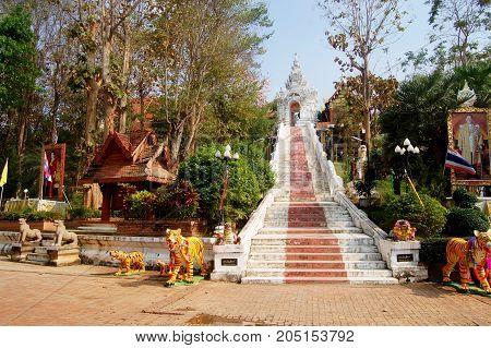 Wat Phra That Cho Hae In Phrae, Thailand