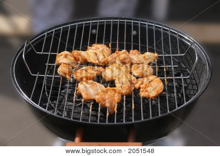Barbecue Grilled Chicken Breasts