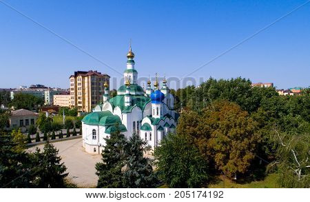 Cathedral of St. Nicholas in Armavir. Russia.