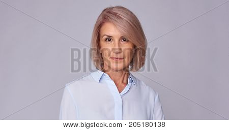 Portrait Of An Senior Woman Smiling