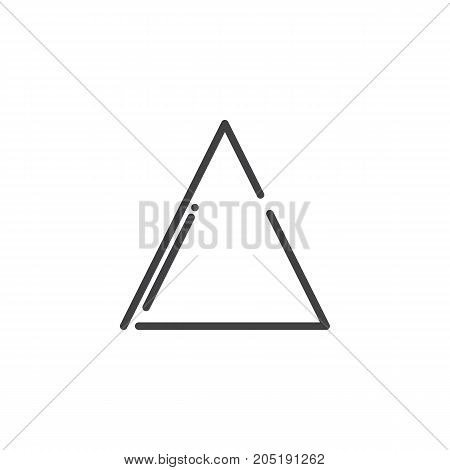 Bleach line icon, outline vector sign, linear style pictogram isolated on white. Symbol, logo illustration. Editable stroke