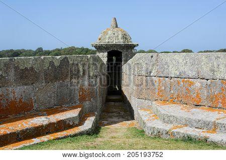 Historical Santa Teresa Fort On Uruguay