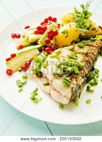 Baked Carpenter With Herbs