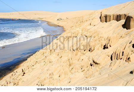 The Beach Of Barra De Valizas