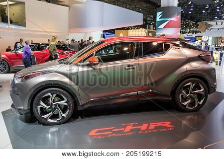 New Toyota C-hr Car