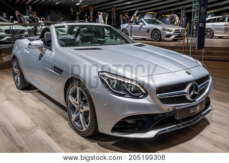 Mercedes Benz Slc 200 Cabrio Car