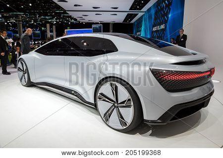 Audi Aicon Self Driving Electric Concept Car