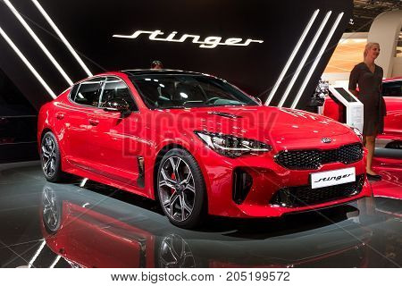 2018 Kia Stinger Car