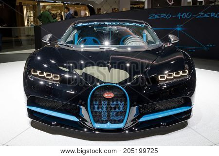 Bugatti Chiron Sports Car